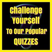 Challenge yourself to our popular quizzes and other great free apps #quiz #app #free