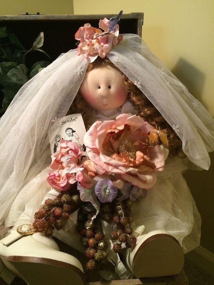 Little Souls Doll Beautiful Bride! #Dolls