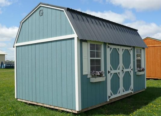 30 best images about portable sheds on pinterest gardens for Grandview lofted barn cabin