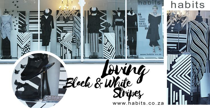 Loving Black & White Stripes