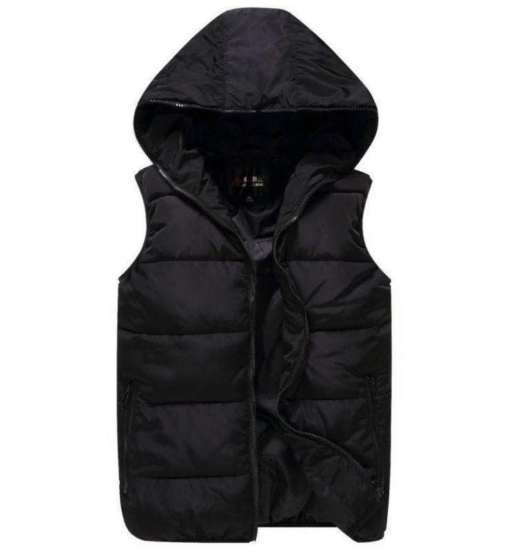 Podzimní zimní teplá pánská vesta na zip černá – Velikost L Na tento produkt se vztahuje nejen zajímavá sleva, ale také poštovné zdarma! Využij této výhodné nabídky a ušetři na poštovném, stejně jako to udělalo …