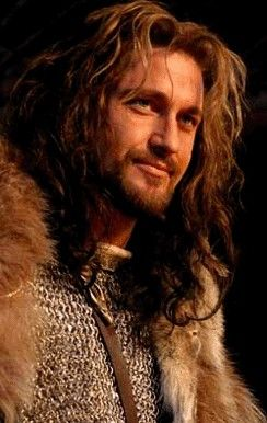 This is kinda, KINDA what father looked like. Uncle, help me out with this.... Do you think it looks like him? -Fili