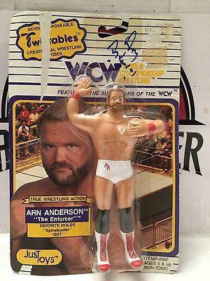 "(TAS003991) - WWE WWF WCW Wrestling Twistables - Arn Anderson ""The Enforcer"""
