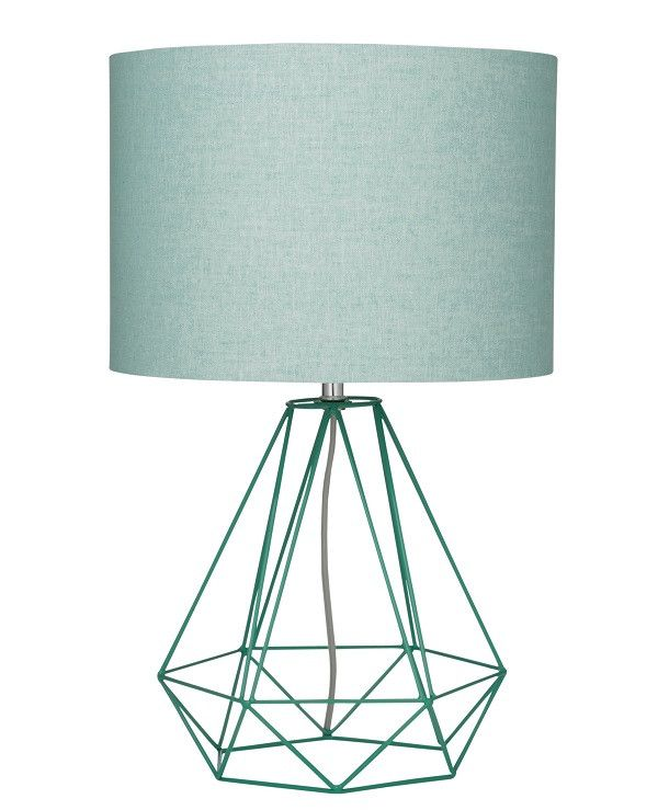 68 best leave a light on images on pinterest chandeliers light empire table lamp mint lamp from coco greentooth Choice Image