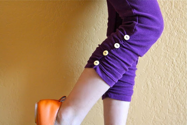Rouched legging how to!  LOVE THESE.  (Rachel, please make me some.)Diy Ideas, Little Girls, Ruched Legs, Fall Wardrobes, Clothing, Sewing Pattern, Legs Tutorials, Crafts, Leggings