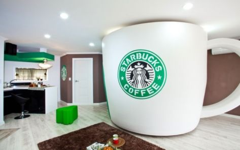 So..do you love coffee so much you want to sleep in it?.. This Seoul's hotel got you covered :P