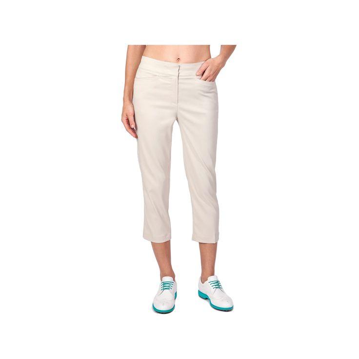 Women's Tail Classic Golf Capris, Size: 18, Lt Beige