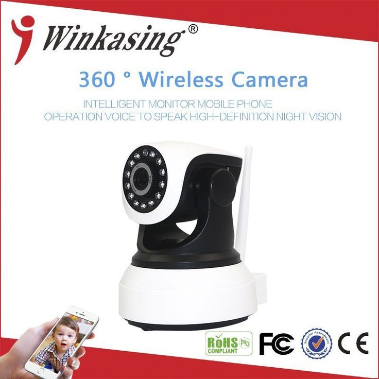 1MP Home Security WiFi Camera  720P Wireless IP Camera Smart Home CCTV Camera #smarthomecamera