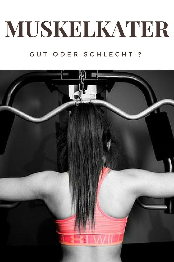 Ist Muskelkater schlecht ? Oder signalisiert er vielleicht doch ein gutes Training ? Genau darum geht es in diesem Artikel.