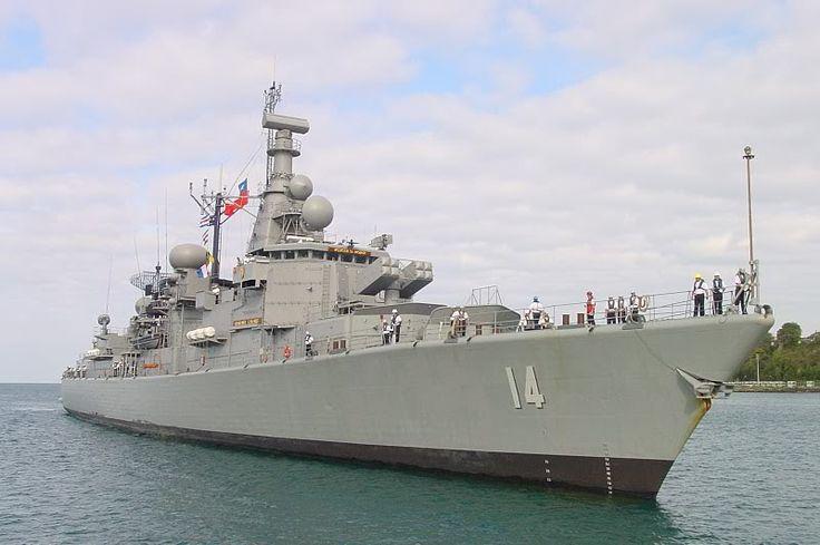Almirante Latorre (FFG-14)  La Fragata Almirante Latorre FFG-14, de la clase Jacob Van Heemskerck entró en servicio en la Armada de Holanda en 1986 y sirvió a esta armada durante 18 años. La Fragata Almirante Latorre entró en servicio, en la Armada de Chile, el 16 de diciembre de 2005. La función de esta nave es la protección aérea de la flota.