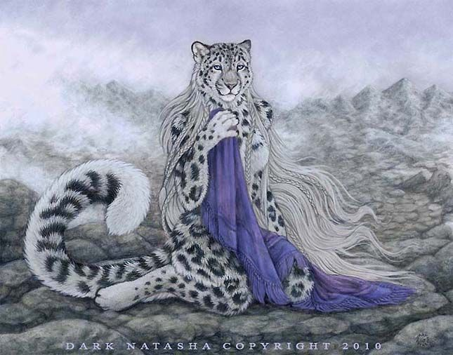 Anthro snow leopard male - photo#45