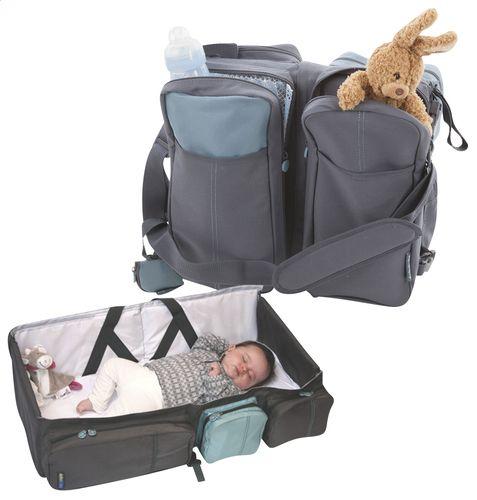 Un sac a langer - lit facilement transportable !