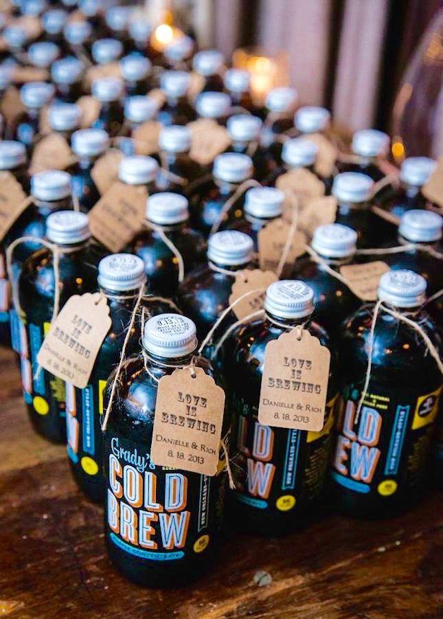 14 Buzz-Worthy Wedding Ideas for Coffee Lovers via Brit + Co.