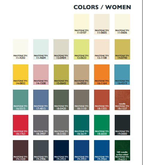 Lenzing colours for FW2014-15