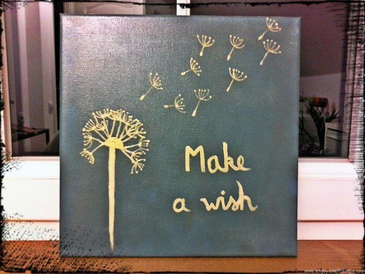 DIY – Make a wish painting