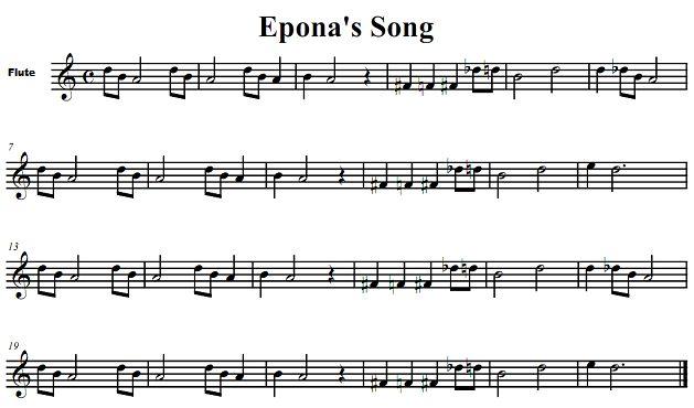 zelda flute sheet music - Google Search