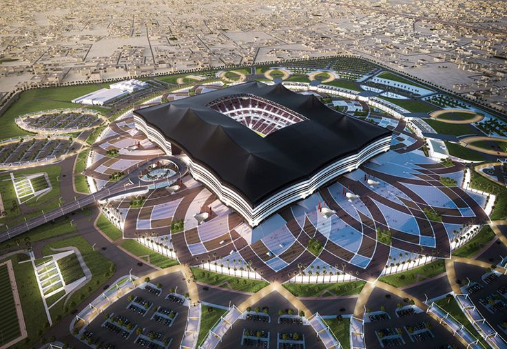 Al Bayt Stadium   Al Jhor, Qatar (FIFA World Cup 2022) - #STEAV   Progettazione architettonica #BIM Settore B per conto di #OneWorks + #CREW - General Contractor: #SaliniImpregilo, Galfar, #Cimolai JV