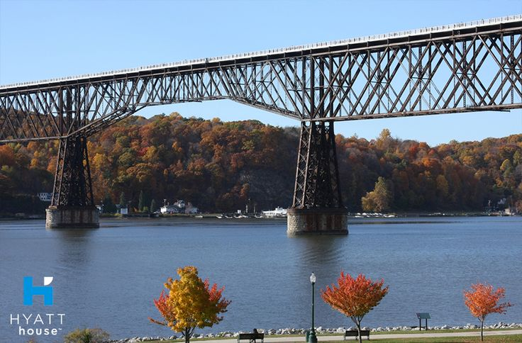 The Walkway Over the Hudson is a great attraction for visitors staying with us at Hyatt House Fishkill/Poughkeepsie, with the largest pedestrian bridge in the world and designated picnic areas that provide breathtaking views for the entire family.