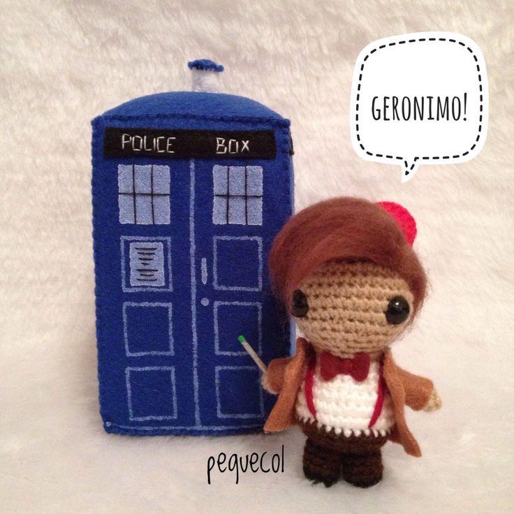 LISTO PARA ENVIAR, chibi Doctor Who kawaii amigurumi, undécimo doctor, Matt Smith, Señor del Tiempo de Gallifrey, hecho a mano, whovian de PequeCol en Etsy https://www.etsy.com/es/listing/494631123/listo-para-enviar-chibi-doctor-who