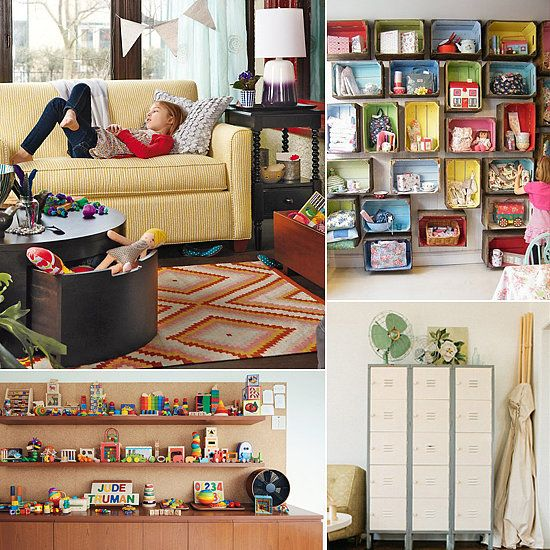 7 Inspiring Kid Room Color Options For Your Little Ones: Clutter Turned Cute! 11 Inspirational Toy Storage Ideas