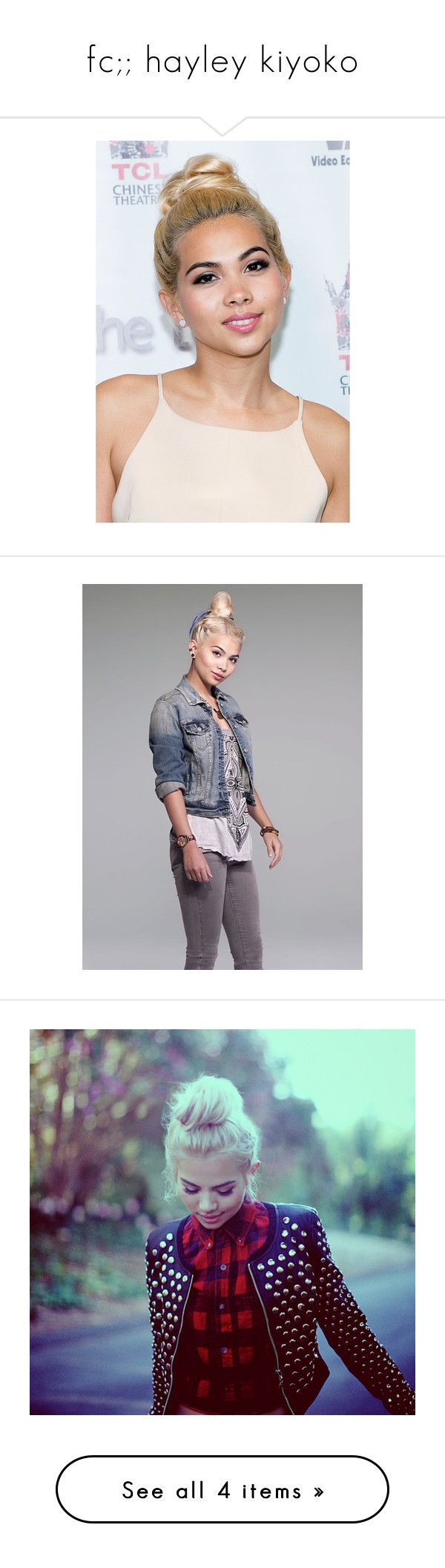 """fc;; hayley kiyoko"" by andsunshine ❤ liked on Polyvore featuring faceclaim, hayleykiyoko, hayley kiyoko, hair, images and pictures"