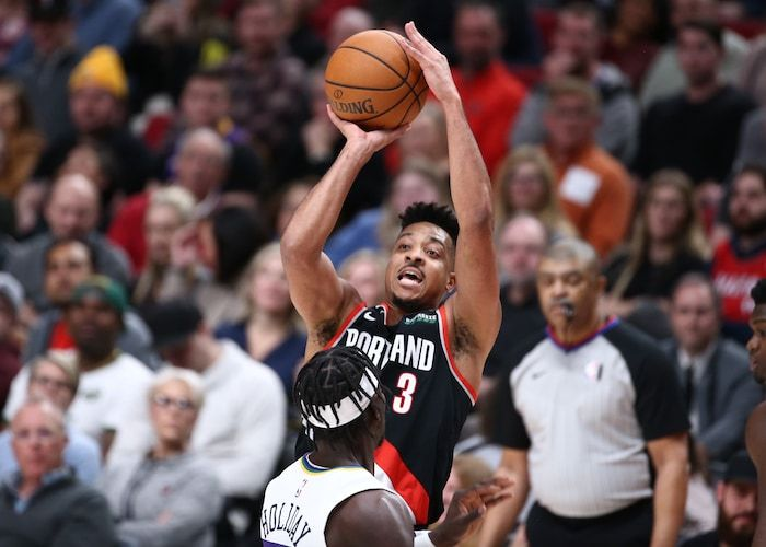 Defense Remains An Issue For Shorthanded Blazers In Loss To Pelicans Trail Blazers Mario Hezonja Brandon Ingram