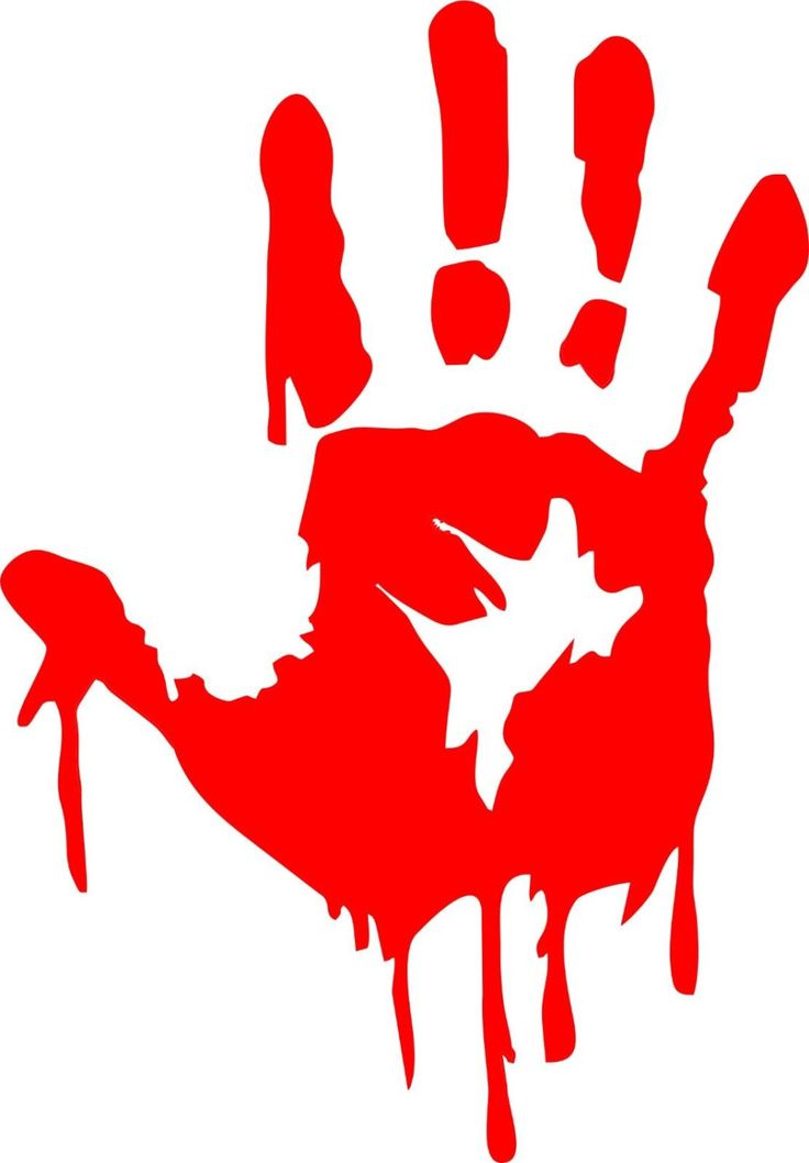 Zombie Bloody Hand Decal Item Details Decals