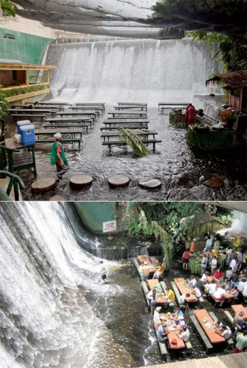 1000 images about quezon philippines my home my life for Villa escudero resort with the waterfalls restaurant in philippines