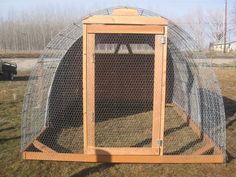 cattle panel chicken coop - Google Search