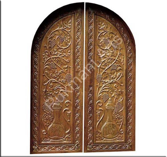 Teak wood carved doors http rukmaniarts