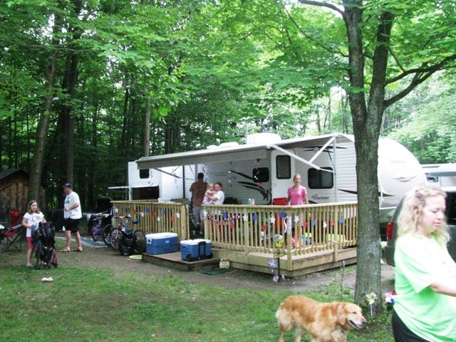 58 best images about the decorated campsite on pinterest for Rv outdoor decorating ideas