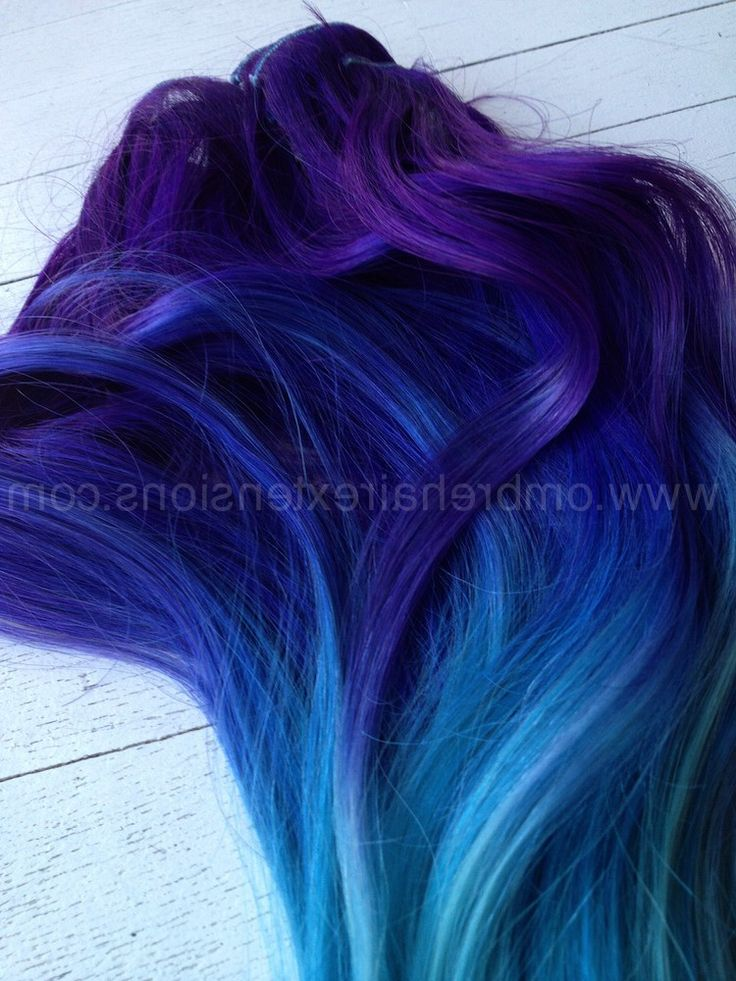 Dark Blue Ombre Hair Tumblr | www.pixshark.com - Images ...