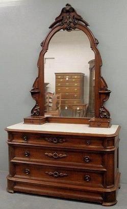 victorian renaissance revival furniture   furniture, America, Furniture: A large Victorian [Renaissance Revival ...