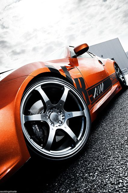 ♂  orange car Tamon Design RC370Z Nissan Fairlady Z #wheels