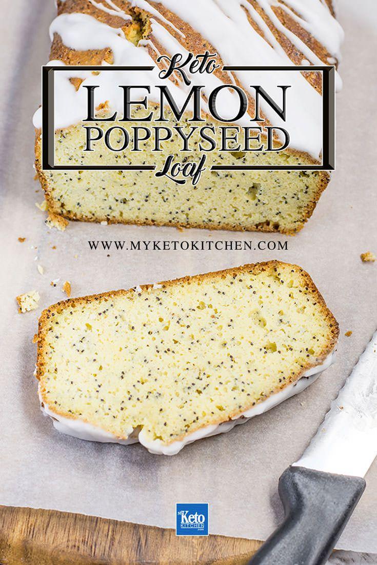 Keto Lemon Bread Loaf Poppy Seed Starbucks Style Recipe Low Carb Recipes Dessert Starbucks Gluten Free Gluten Free Lemon