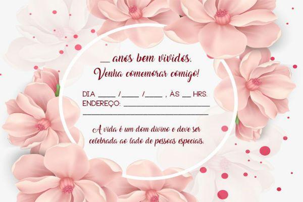 Convites De Aniversario Adulto Online Gratis Fotos E Modelos