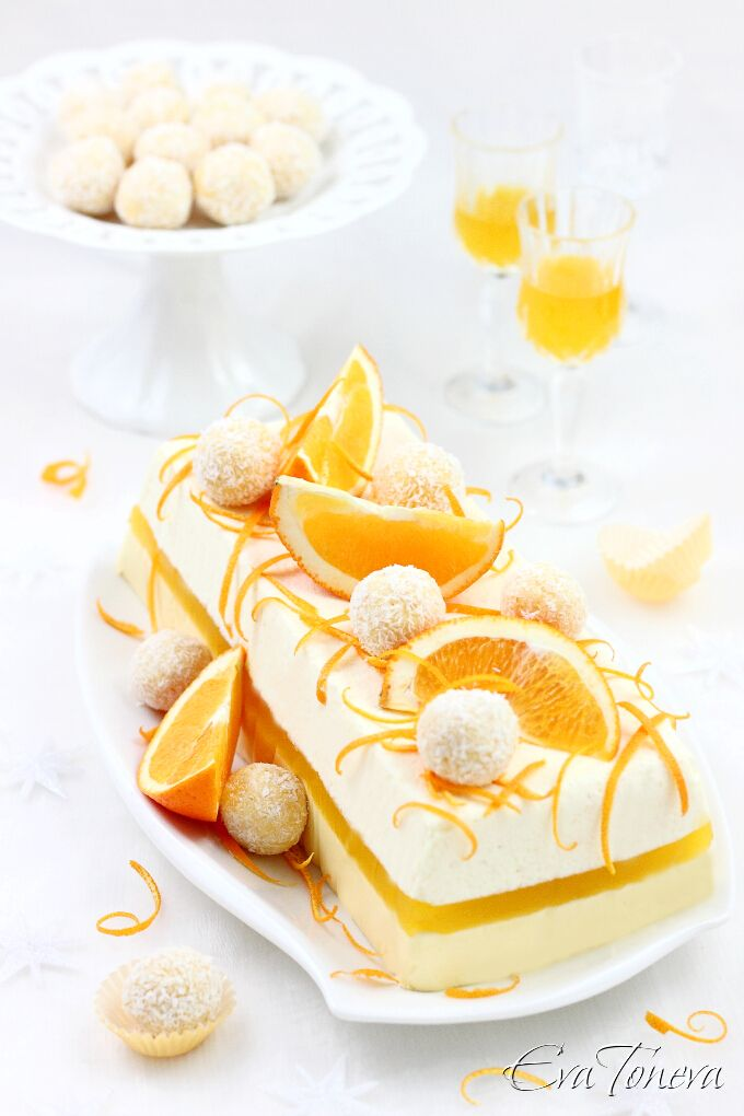 Oorange Terrine - That's a Wow! recipe if ever I've seen one! Gorgeous!