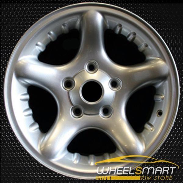 17 Dodge Ram 1500 Oem Wheel 2000 2001 Silver Alloy Stock Rim 2126 Dodge Ram 1500 Oem Wheels Dodge Ram