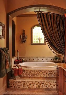 Gorgeous Tuscan Style Bathroom