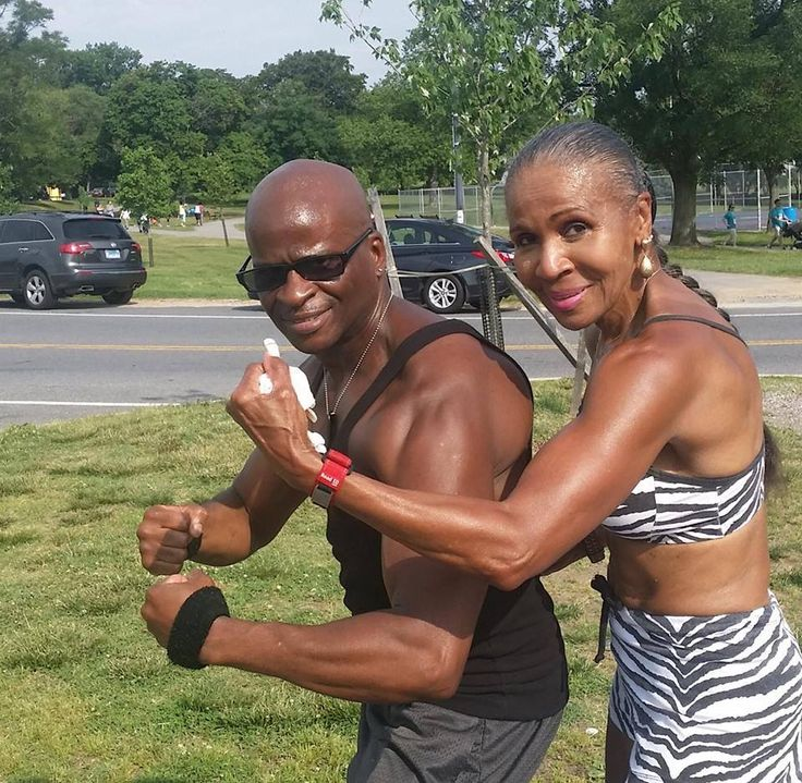 Ms. Ernestine Shepherd at age 79!