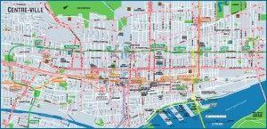 Plan centre ville Montreal