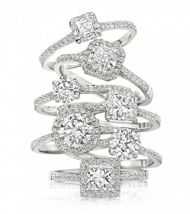 Engagement ring insurance by @Perfect Circle Jewelry Insurance (plus pretty rings by Astley Clarke)