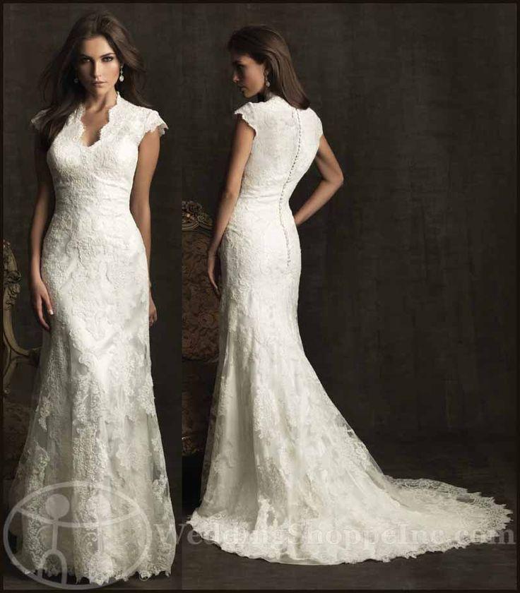 Mejores 27 imágenes de LDS Wedding Dresses en Pinterest | Vestidos ...