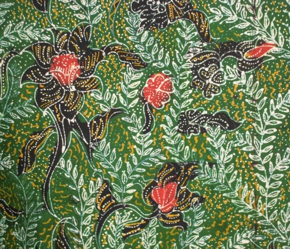 Detail of #batik panel from Madura, Indonesia.