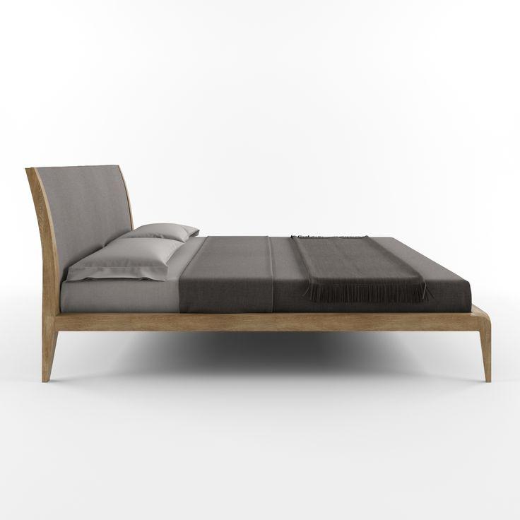 Кровать OAS от HBMart - массив дуба с покрытием из льняного масла и пчелиного воска
