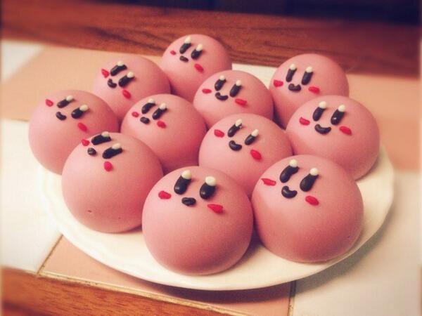 Kirby Nummies...so cute