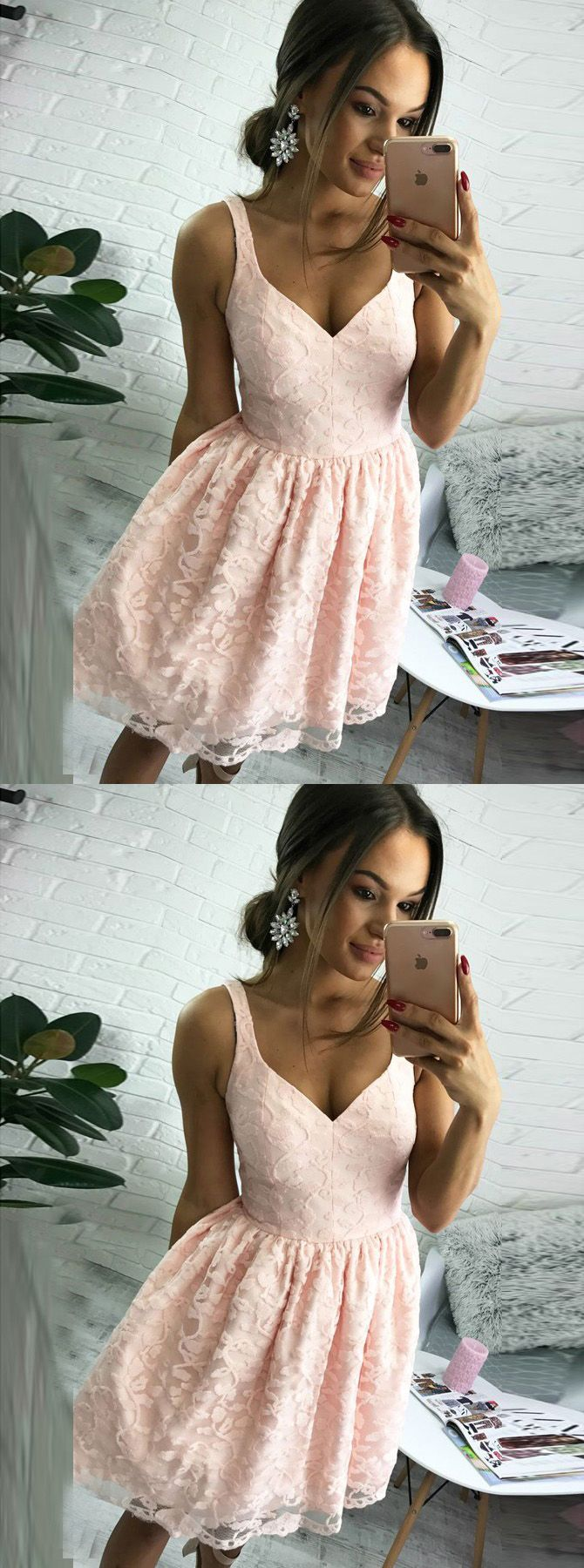 homecoming dresses,short homecoming dresses,cheap homecoming dresses,lace homecoming dresses,pink homecoming dresses