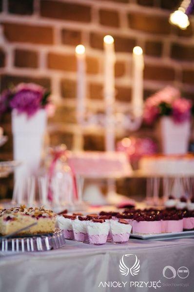 21. Fuchsia Wedding,Sweets,Sweet table decor / Wesele fuksjowe,Słodkości,Dekoracje słodkiego stołu,Anioły Przyjęć