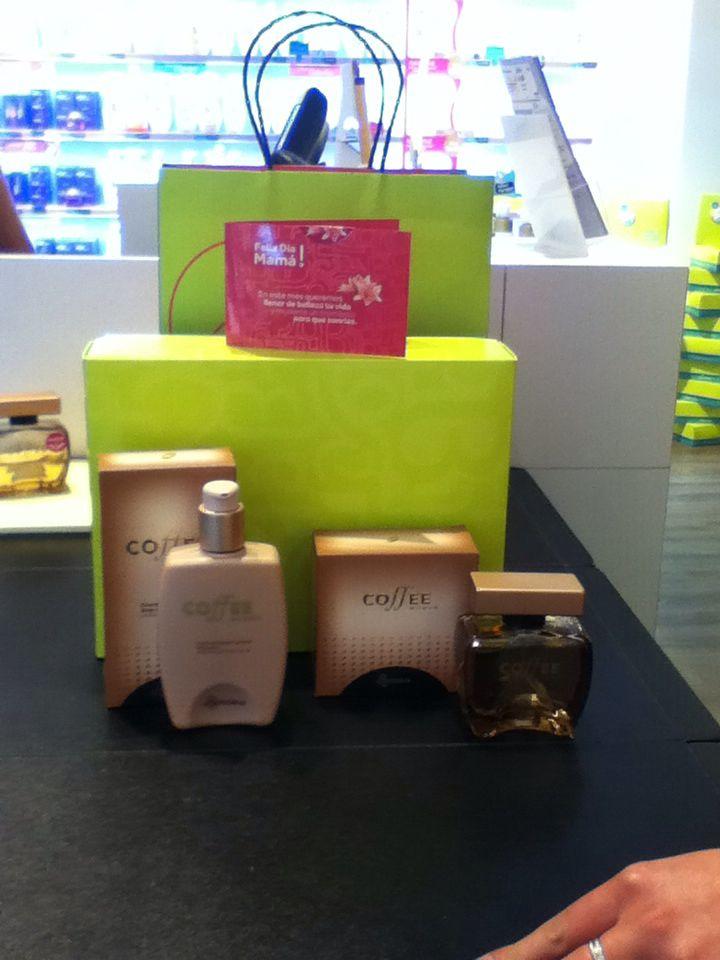 Perfume y crema de @OBoticario #OBoticario fragancia coffe, maravilloso regalo de día de la madre, gracias.