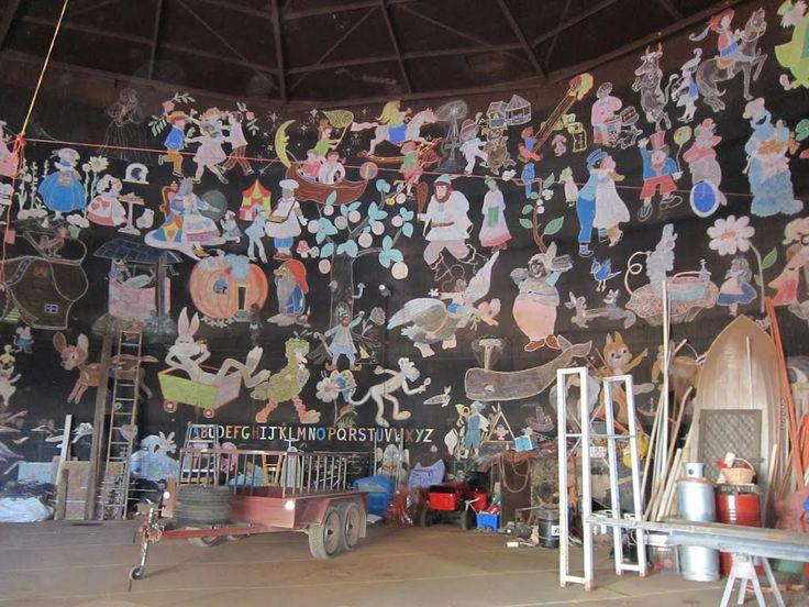 wall-painting cartoons